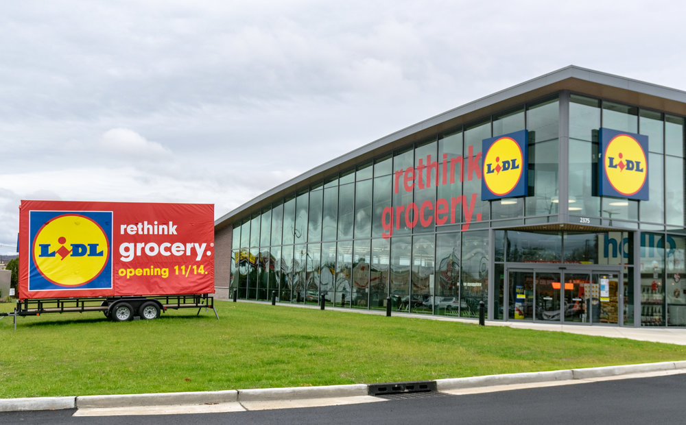 LIDL Supermarket in Union Opening 11/14