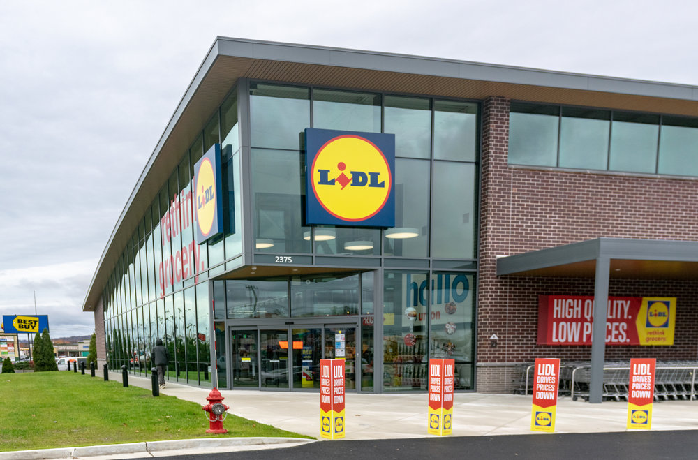 LIDL Supermarket in Union Exterior Building