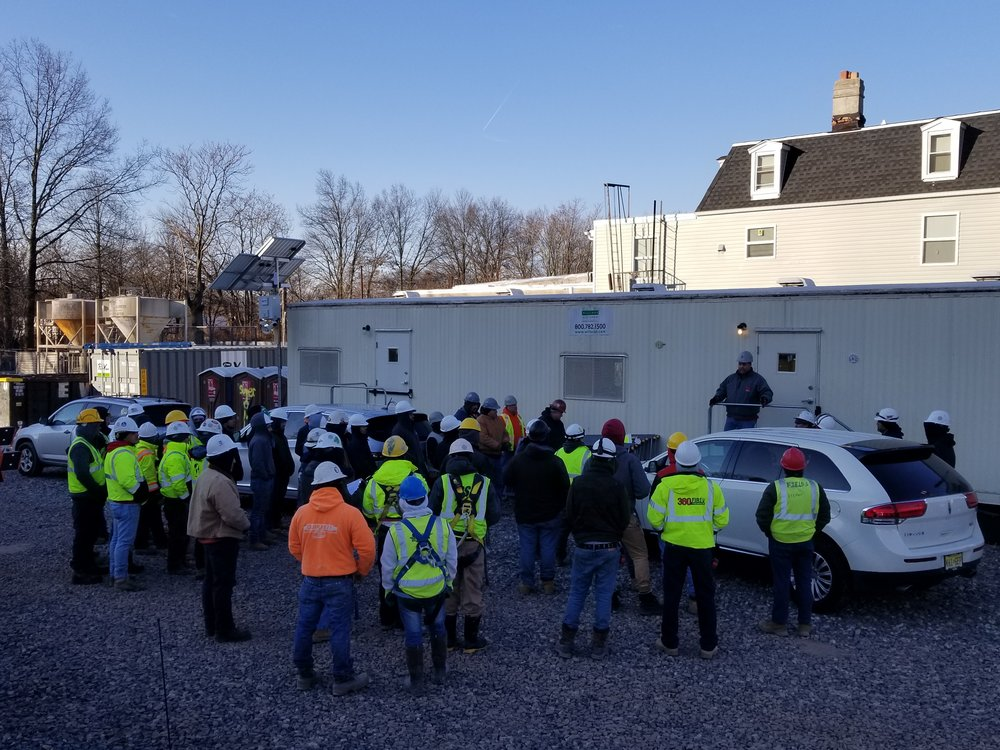 Safety Stand Down Meeting at our Meridia on Westfield Project March Construction