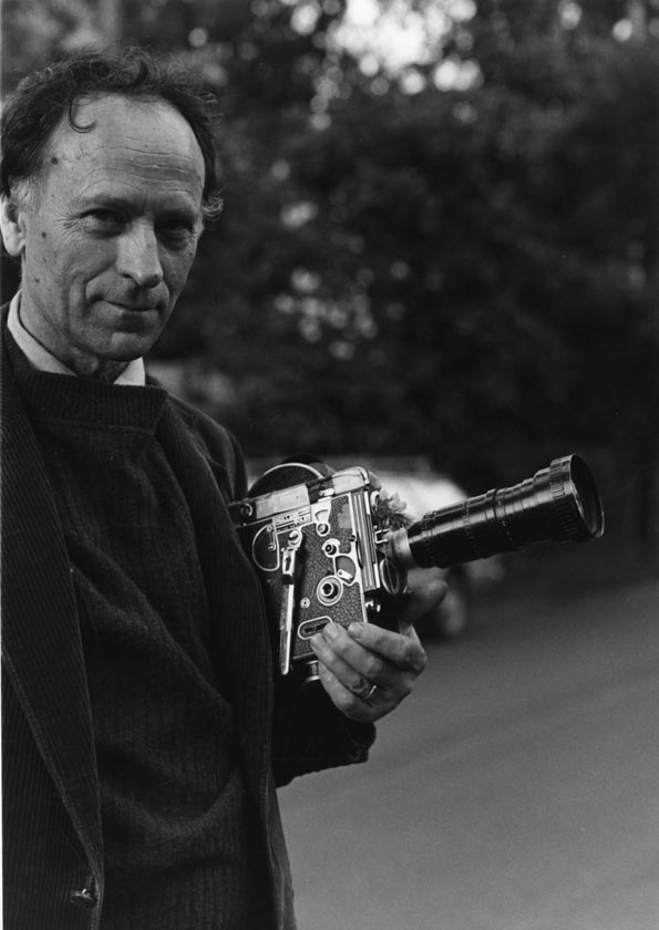 Jonas Mekas, 1974. Photo: Hollis Melton.