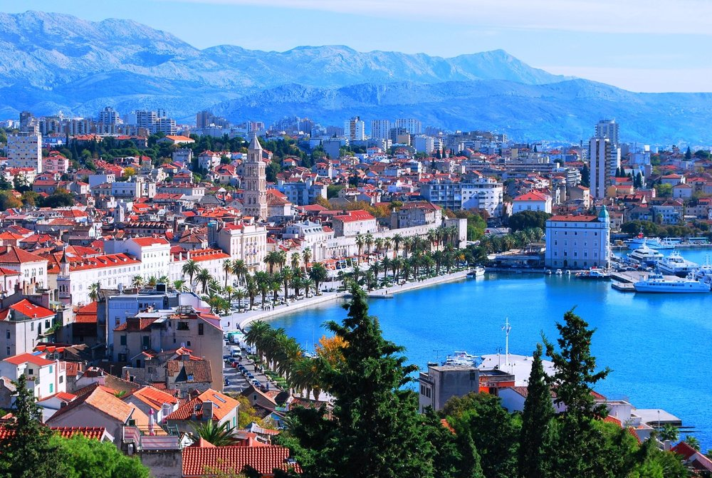 Relax in this quaint city on the Adriatic while eating delicious seafood