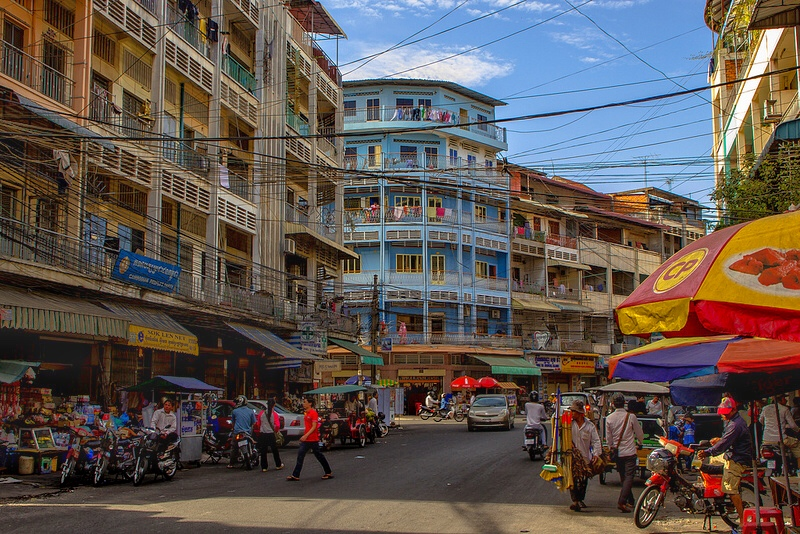 This French built city is the largest in Cambodia and is known as the Pearl of Asia for is ornate beauty