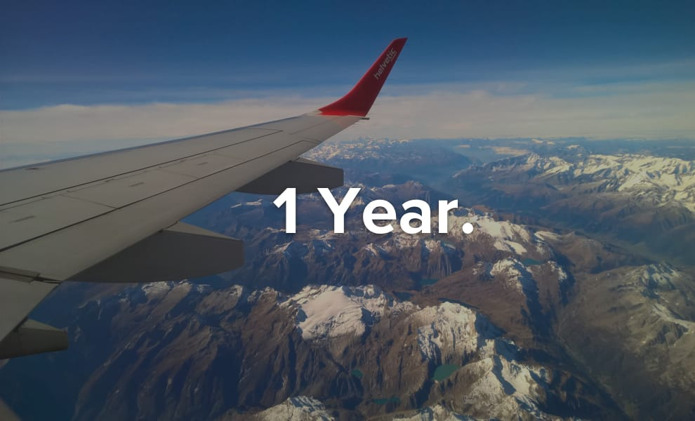 Work and travel for a year