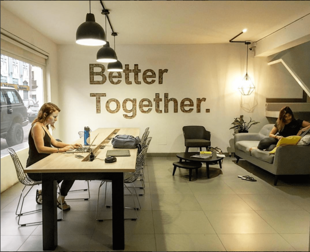 Remote Year coworking space