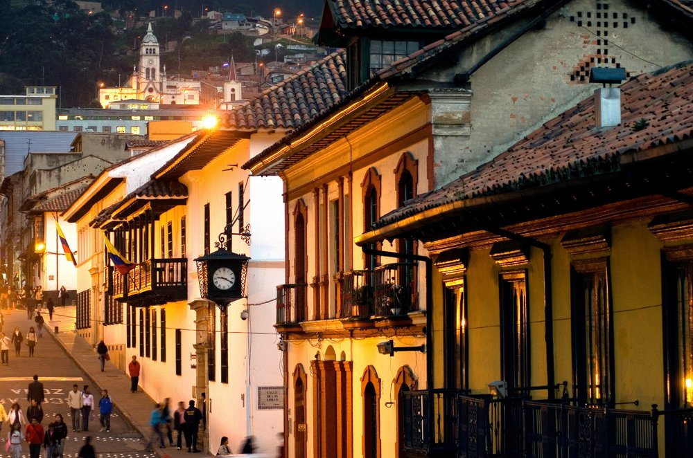 Get lost wandering in Bogotá's cobbled colonial district and vibrant urban neighborhoods