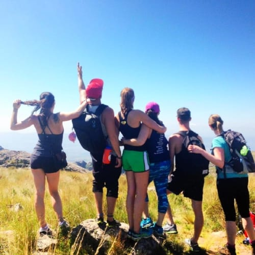 Remote Year hiking group