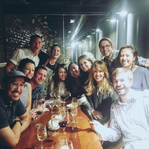 RY group at dinner