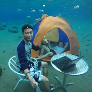 Copy of Remote working under the sea