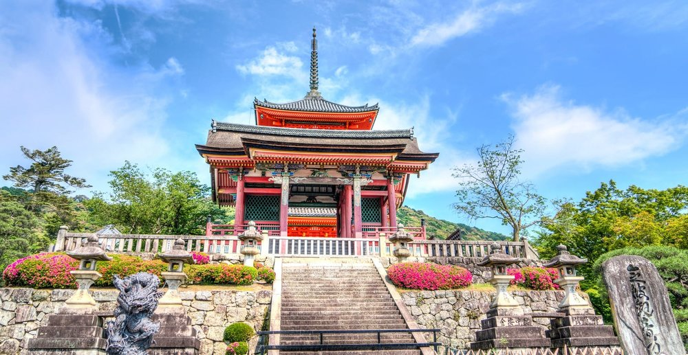 Get your cultural fix amongst geishas, temples and cherry blossoms in Japan's old capital.