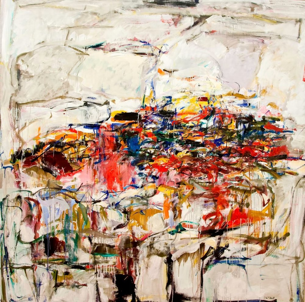 """City Landscape,"" Joan Mitchell. (1955)"