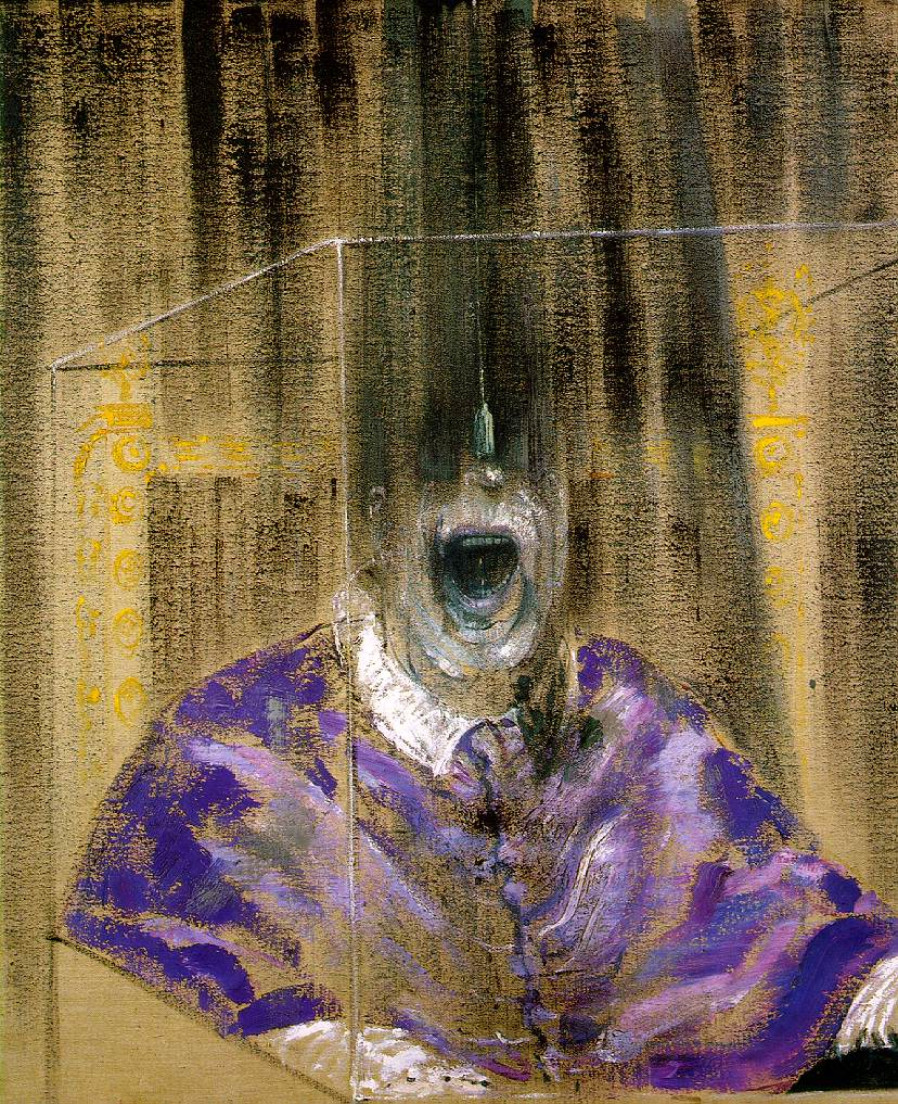 Head VI,  Francis Bacon. 1949.