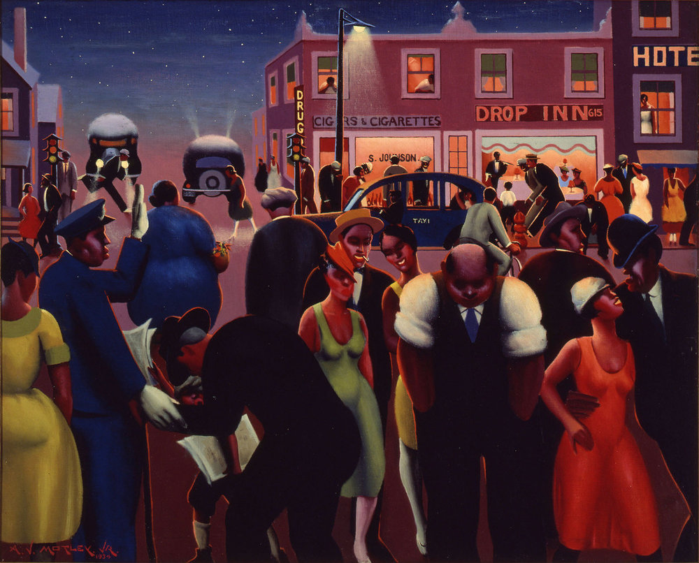 Black Belt , Archibald J. Motley Jr. 1934.