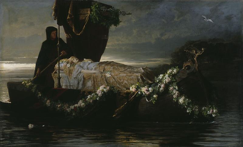 Elaine. Toby Edward Rosenthal, 1874.