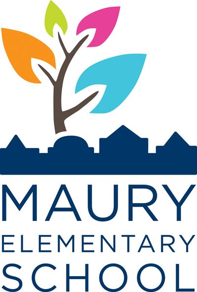 Nayman Design created a new logo for DCPS's Maury Elementary to reflect the joyful, growth-oriented and diverse atmosphere of the school and emphasize its ...