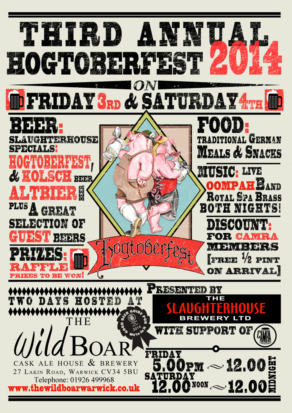 Hogfest 2014 poster