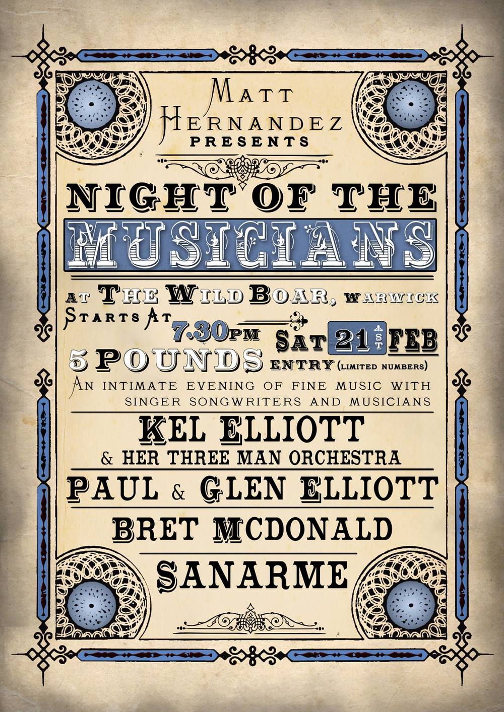 Night Of The Musicians