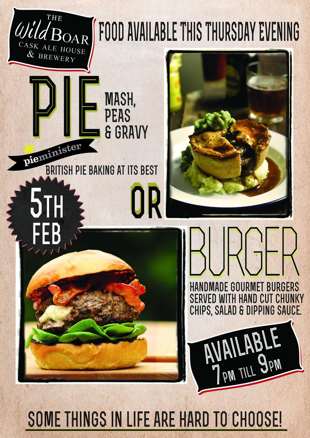 pie or burger thursday