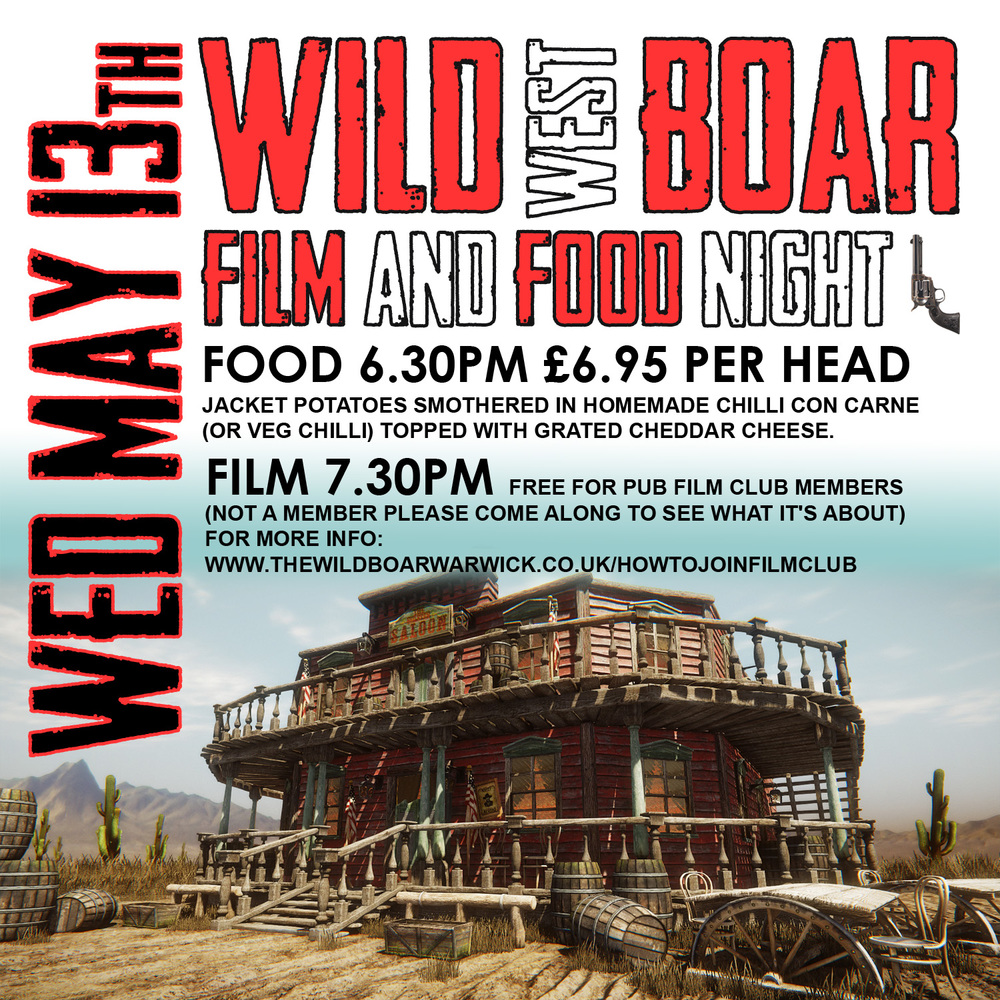 wild west film night