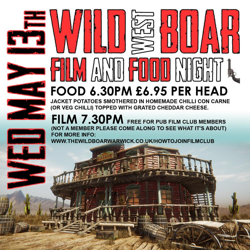 wild west film night