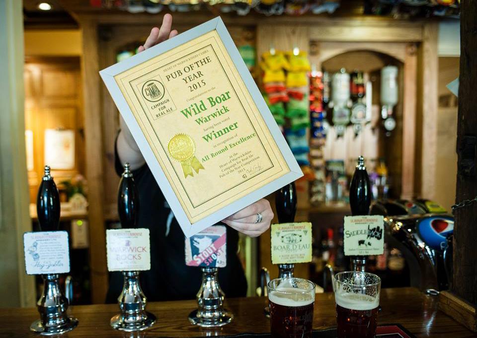 image of the bar & award