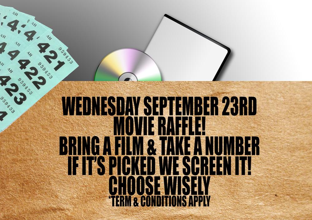 Film Club Raffle Screening