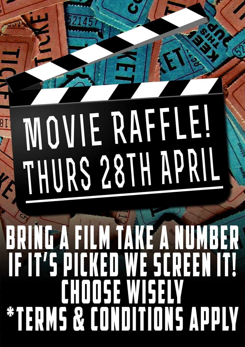 movie raffle night
