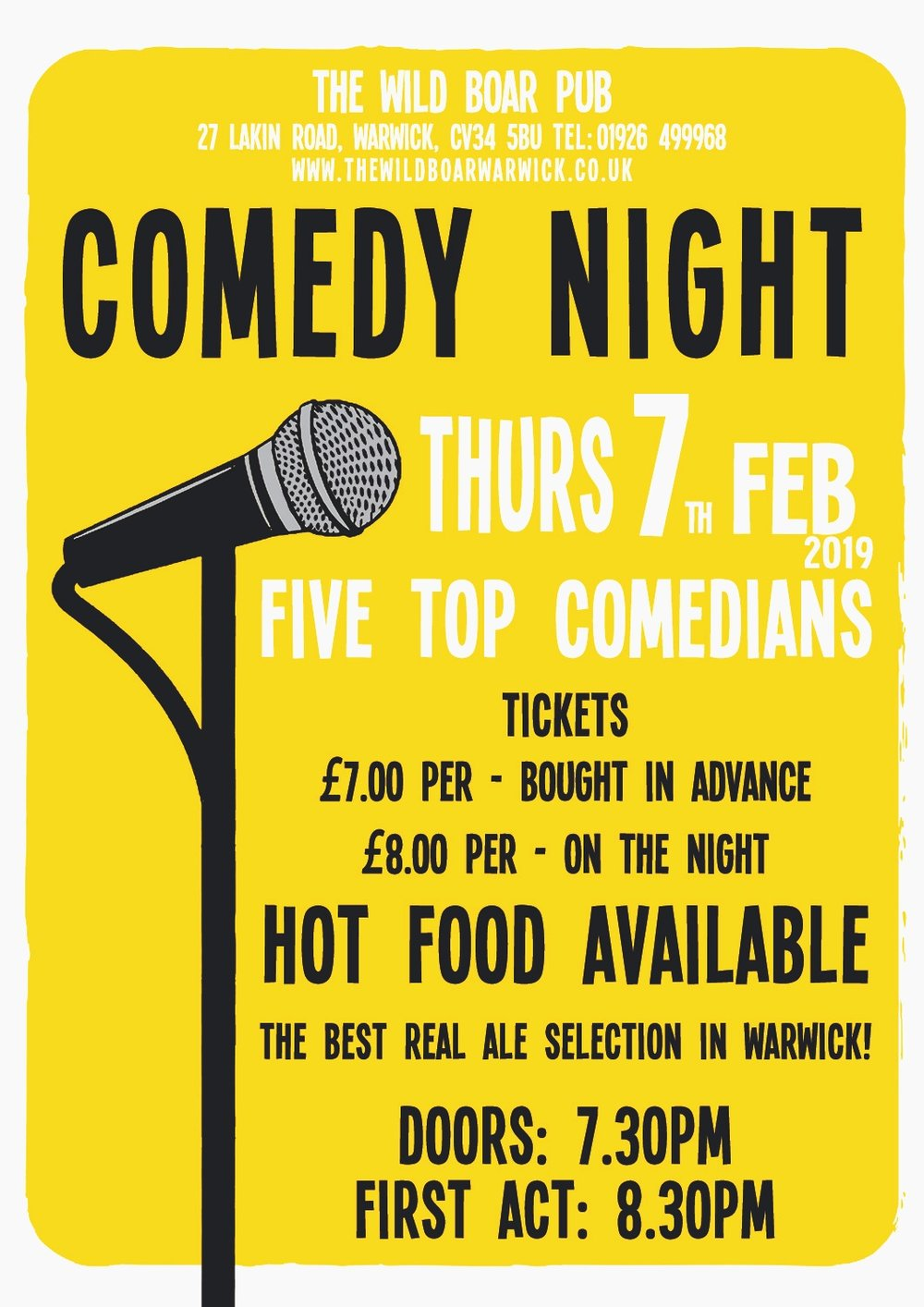Comedy+Night+poster