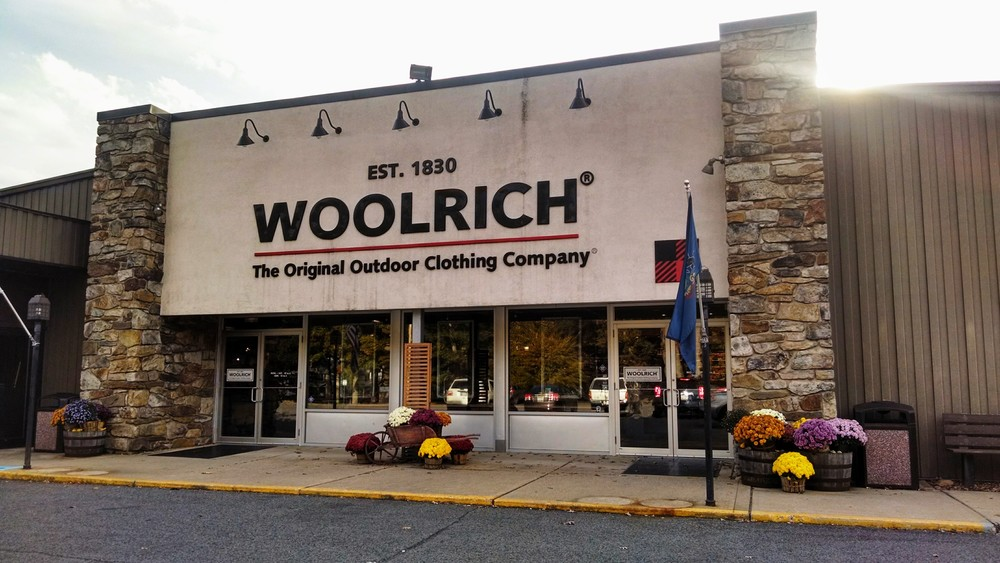 The original Woolrich company store is only 30 minutes away from Ramsey village.