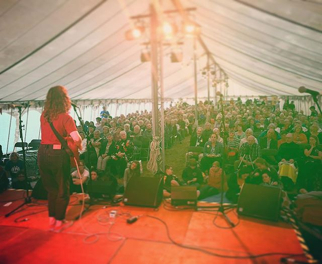 Just back from a weekend playing multiple sets at @dartmoorfolkfestival.media - I had such a good time,met some great people and I'm now pretty much fluent in Devonshire dialect. #devon #dartmoor #festival #folkfest #zuent #gurtlush #cider #properjob