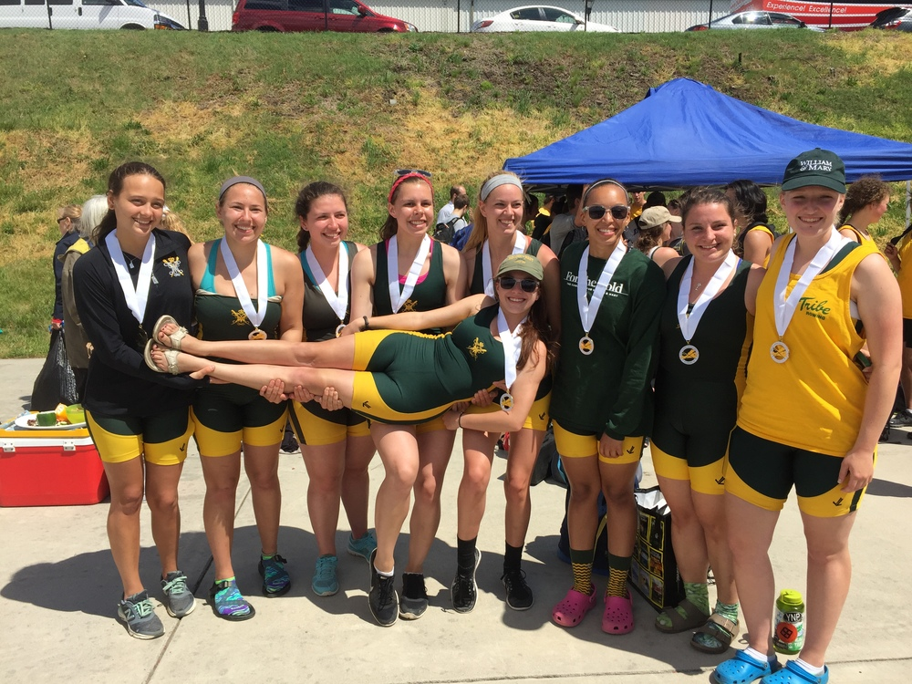 The varsity women's eight