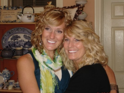 My Mom and I the day before my wedding in 2009!