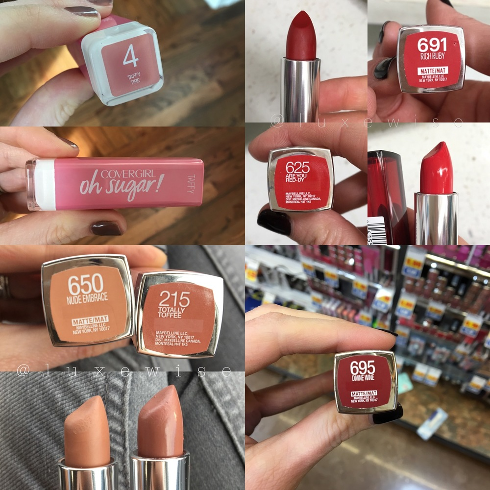 more of our drugstore favorites!