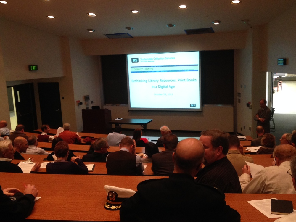 Well-attended faculty session at US Naval Academy