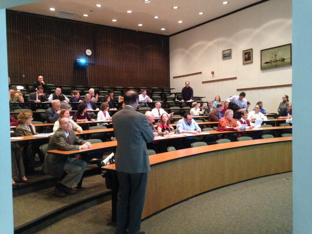Listening to Faculty:  the Presenter's View