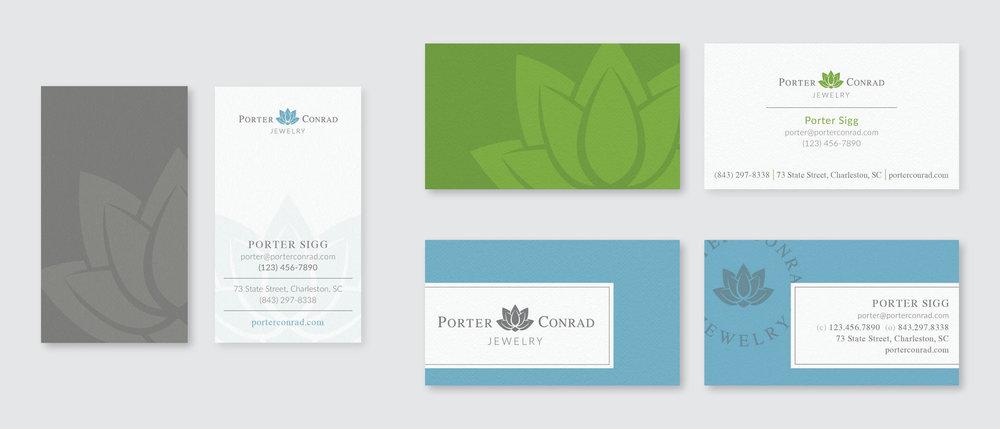 Business card exploration