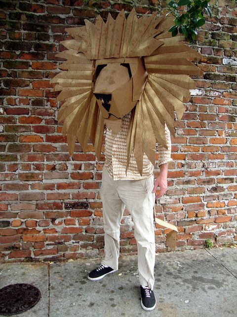 Lion Mask | Photo by  Catherine Markel  | Keeper & Co. Blog