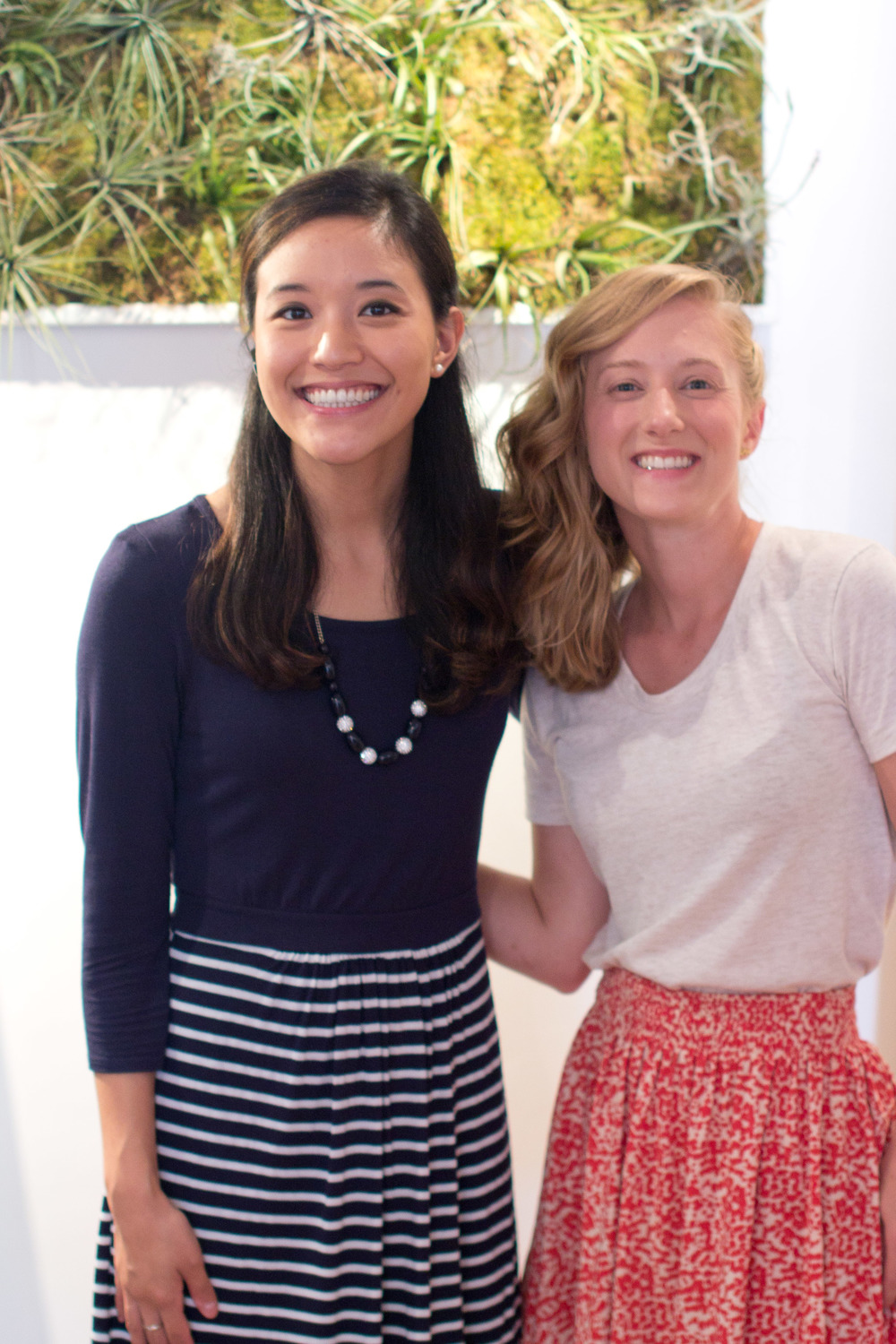 Nancy and Lexy at Fleur de Lei Eco Boutique in Maui | Keeper & Co. Blog