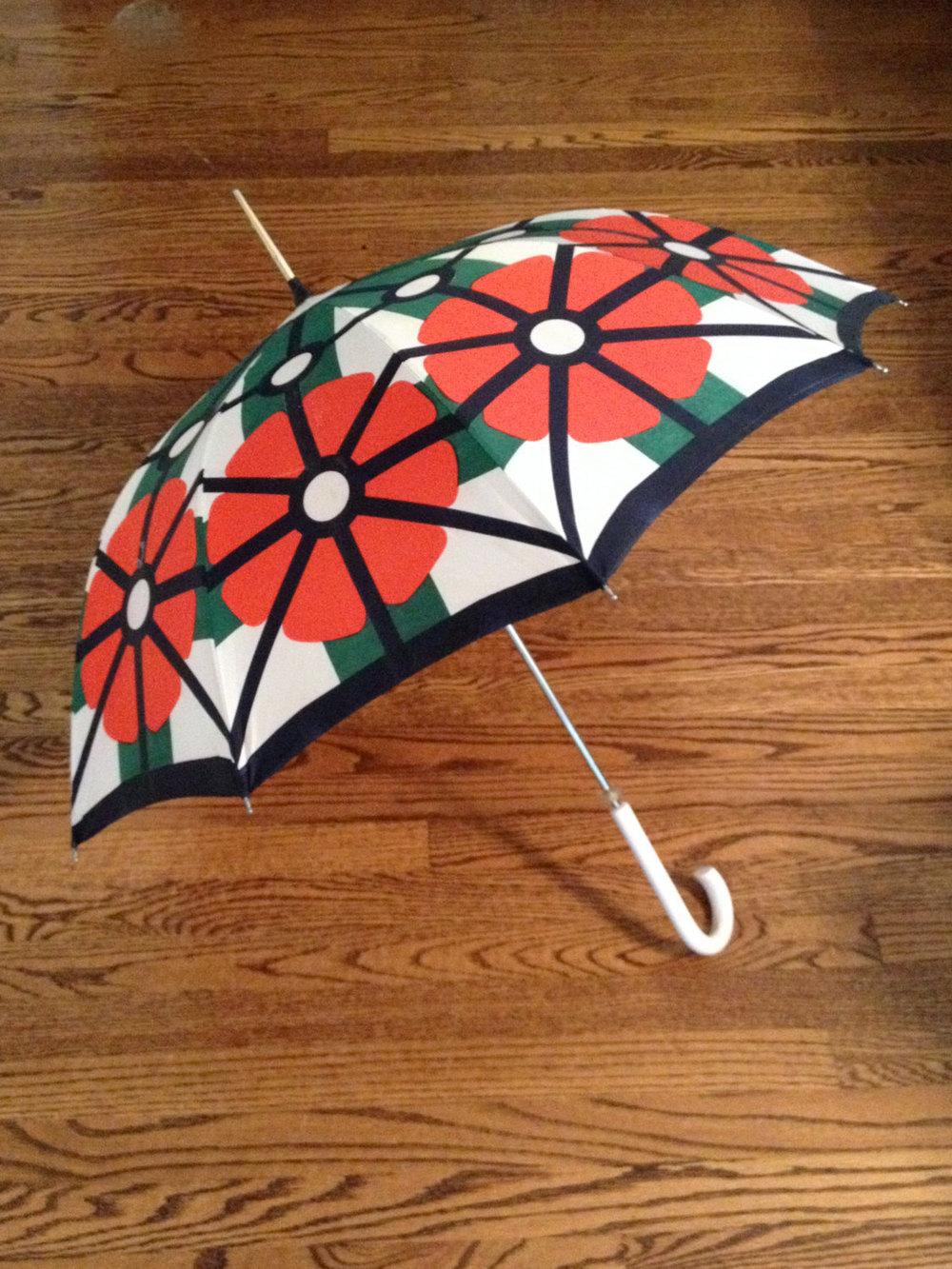 1960s Parisian Lanvin Umbrella from1006 Osage | Keeper & Co. Blog