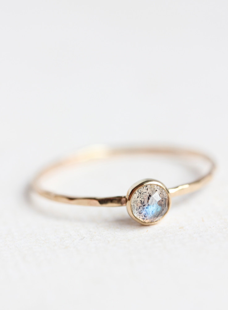 Gold & Rose Cut Labradorite by Belinda Saville | Sydney, Australia | Keeper & Co. Blog