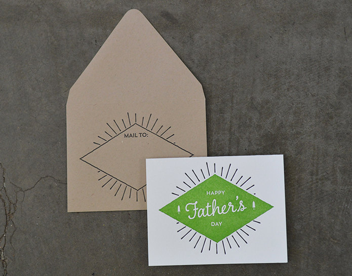 Eco-Friendly Father's Day Card by Wiley Valentine | Keeper & Co. Blog