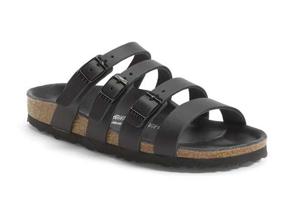 Delmas Black Leather by Birkenstock | Sustainable Summer Sandals | Keeper & Co. Blog