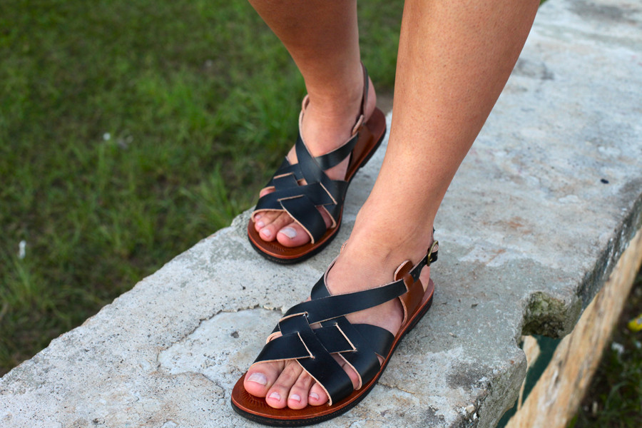 Black & Brown Leather by Coboclo| Sustainable Summer Sandals | Keeper & Co. Blog