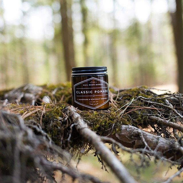 Classic Pomade by The Mailroom Barber | Photo by Cody Calhoun | 5 Planet-Protecting Pomades | Keeper & Co.