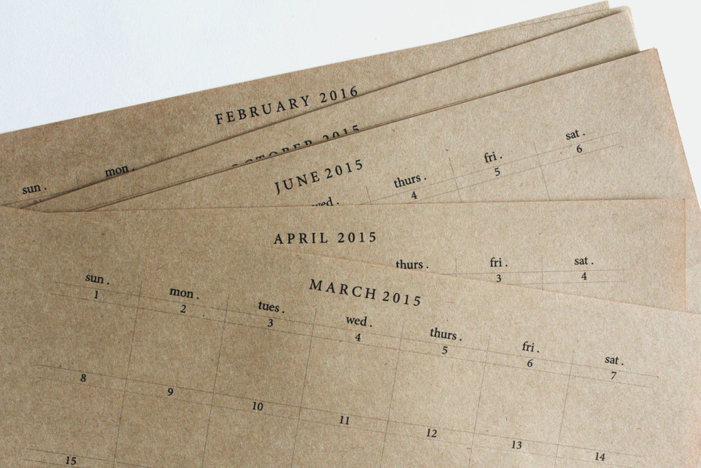 Made in Australia | 3 Simple & Sustainable Calendars | Keeper & Co. Blog