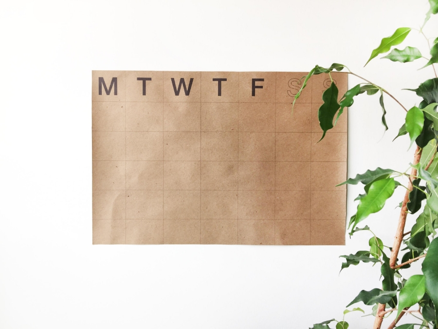 Made in Chicago | 3 Simple & Sustainable Calendars | Keeper & Co. Blog