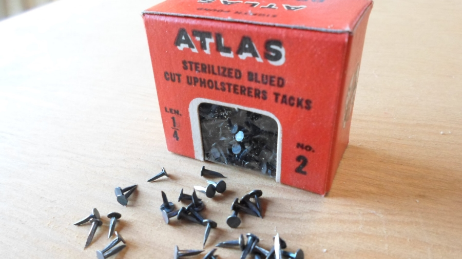 Vintage 1930s Tacks from Pennsylvania | Keeper & Co. Blog