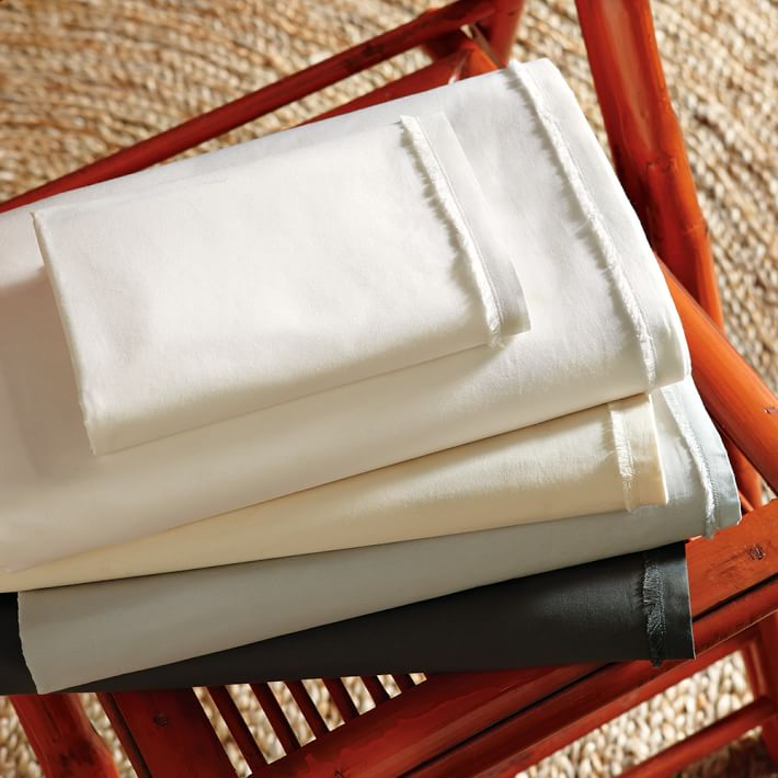 Organic Cotton and Fair Trade Sheets by West Elm | 11 SIMPLE & SUSTAINABLE SHEET SETS