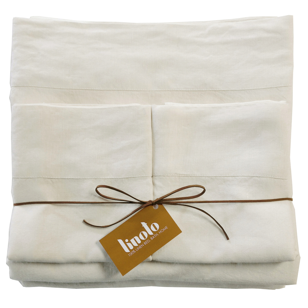 Organic Linen Sheets by Linoto | 11 SIMPLE & SUSTAINABLE SHEET SETS