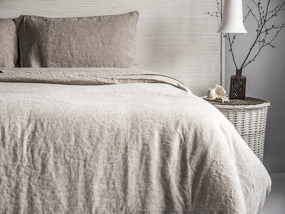 Organic, Stonewashed Linen Sheets by Bea Linen |  | 11 SIMPLE & SUSTAINABLE SHEET SETS