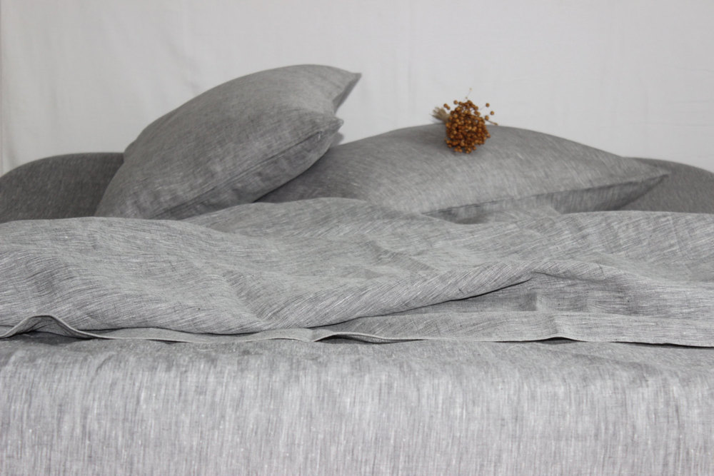 Organic Linen Sheets by Kingdom of Comfort | 11 SIMPLE & SUSTAINABLE SHEET SETS